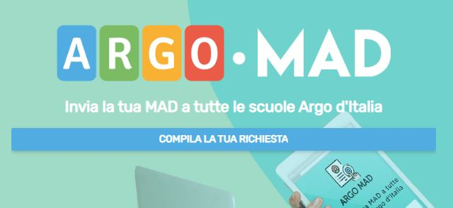 MAD - Messa a Disposizione per supplenze